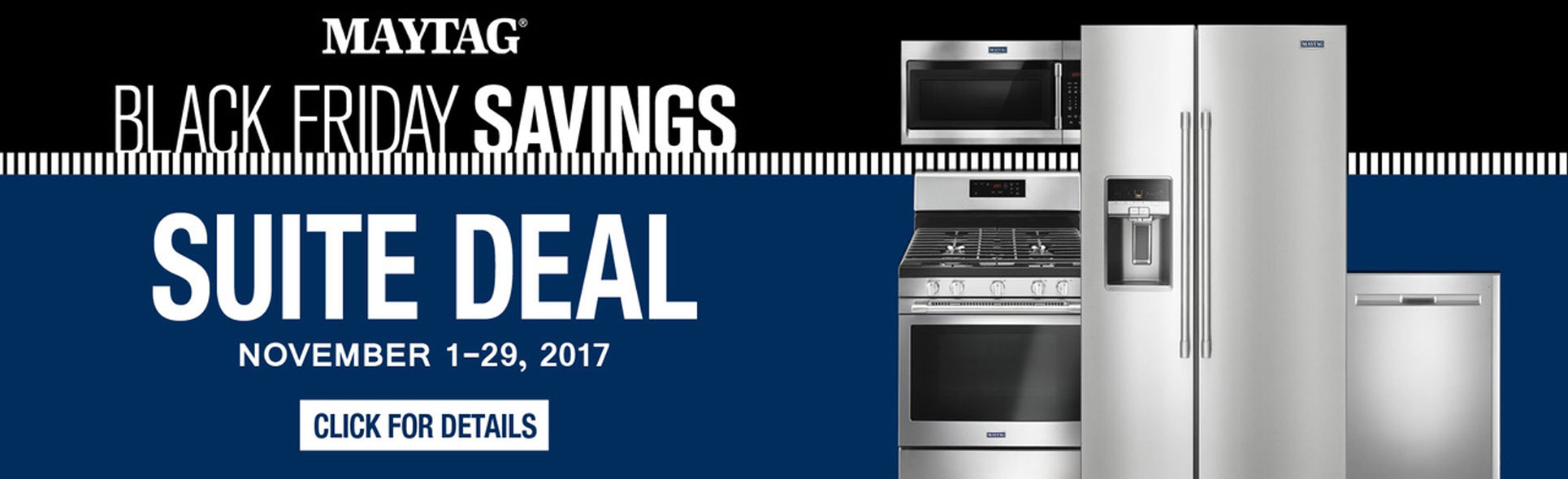 Maytag Black Friday Suite Deals